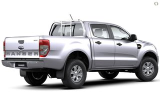 2020 Ford Ranger PX MkIII 2021.25MY XLS Silver 6 Speed Sports Automatic Double Cab Pick Up.