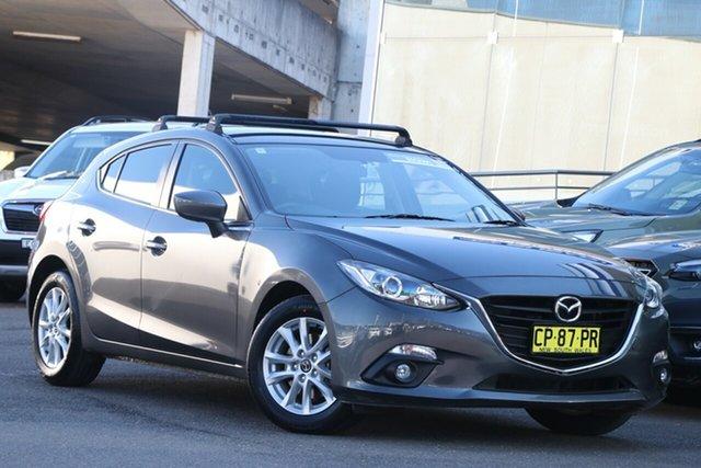 Used Mazda 3 BM5478 Maxx SKYACTIV-Drive Brookvale, 2015 Mazda 3 BM5478 Maxx SKYACTIV-Drive Grey 6 Speed Sports Automatic Hatchback
