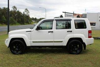2010 Jeep Cherokee KK MY11 Limited White 4 Speed Automatic Wagon