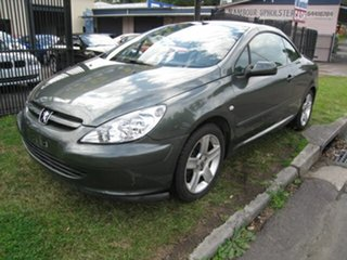 2004 Peugeot 307 CC Dynamic Grey 5 Speed Manual Cabriolet.
