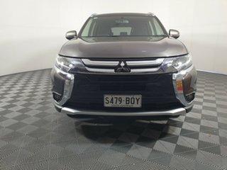 2017 Mitsubishi Outlander ZK MY17 LS 2WD Ironbark 6 Speed Constant Variable Wagon.