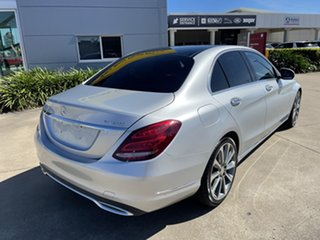 2014 Mercedes-Benz C-Class W205 C250 BlueTEC 7G-Tronic + Silver/120115 7 Speed Sports Automatic.