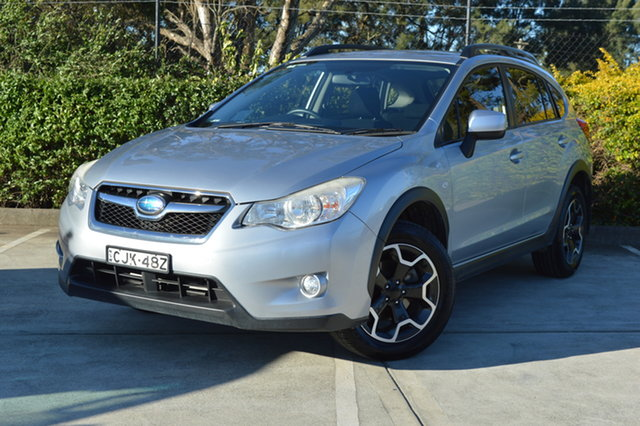 Used Subaru XV G4X MY13 2.0i Lineartronic AWD Maitland, 2013 Subaru XV G4X MY13 2.0i Lineartronic AWD Silver, Chrome 6 Speed Constant Variable Wagon