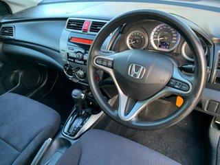 2012 Honda City GM MY12 VTi Grey 5 Speed Automatic Sedan