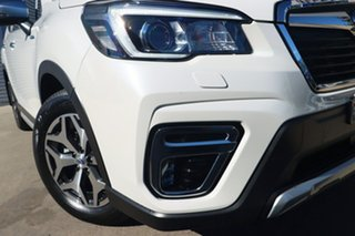 2020 Subaru Forester MY20 2.0E-L Hybrid (AWD) Crystal White Continuous Variable Wagon.