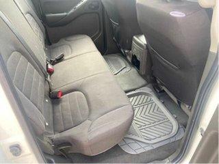 2009 Nissan Navara D40 ST (4x4) White 6 Speed Manual Dual Cab Pick-up