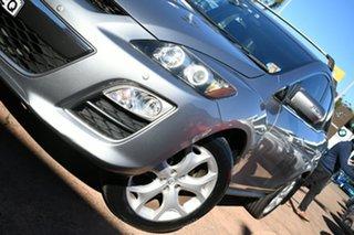 2011 Mazda CX-7 ER MY10 Luxury Sports (4x4) Silver 6 Speed Auto Activematic Wagon.