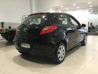 2011 Mazda 2 DE10Y1 MY11 Neo Brilliant Black 4 Speed Automatic Hatchback.