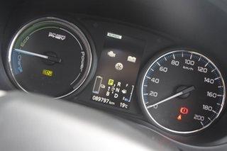 2014 Mitsubishi Outlander ZJ MY14.5 PHEV AWD Aspire Black Pearl 1 Speed Automatic Wagon Hybrid