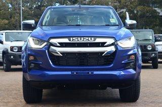 2021 Isuzu D-MAX RG MY21 LS-U (4x4) Cobalt Blue 6 Speed Auto SEQ Sports Mode Crew Cab Utility