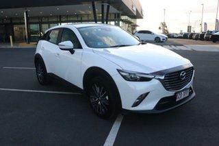 2017 Mazda CX-3 DK2W7A sTouring SKYACTIV-Drive Snowflake White Pearl 6 Speed Sports Automatic Wagon.