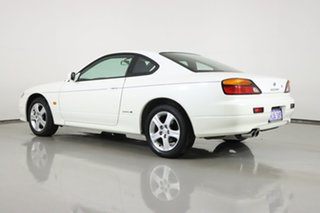 2001 Nissan 200SX S15 Spec S White 4 Speed Automatic Coupe