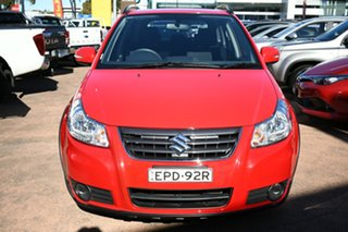 2013 Suzuki SX4 GY Crossover Navigator Red Continuous Variable Hatchback
