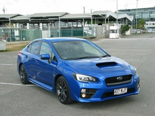 2015 Subaru WRX MY16 Premium (AWD) Blue 6 Speed Manual Sedan.