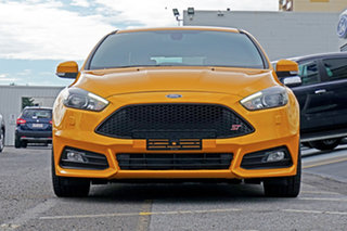 2017 Ford Focus LZ ST Yellow 6 Speed Manual Hatchback.
