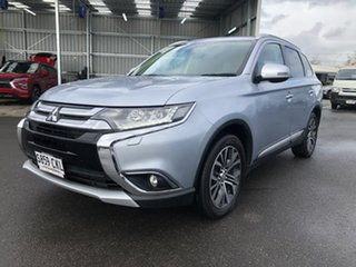 2016 Mitsubishi Outlander ZK MY16 Exceed 4WD Silver 6 Speed Sports Automatic Wagon