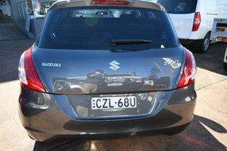 2015 Suzuki Swift FZ GL Grey 5 Speed Manual Hatchback