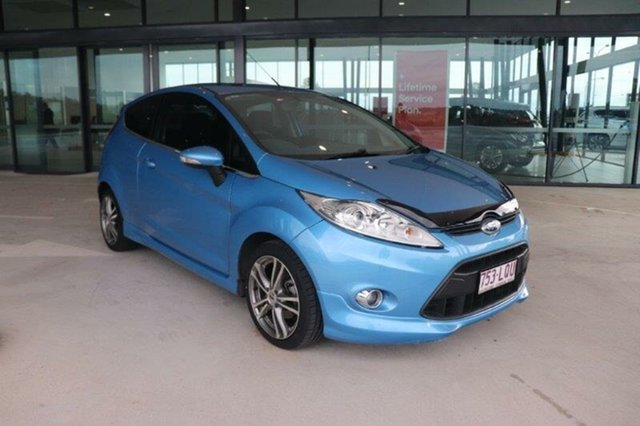 Used Ford Fiesta WS Zetec Augustine Heights, 2009 Ford Fiesta WS Zetec Vision 5 Speed Manual Hatchback