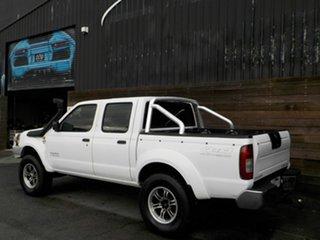 2003 Nissan Navara D22 MY2003 ST-R White 5 Speed Manual Utility