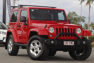 2013 Jeep Wrangler JK MY2014 Overland Flame Red 5 Speed Automatic Hardtop.