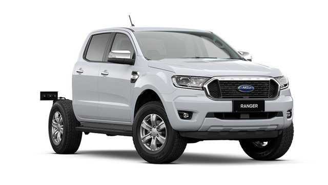 Demo Ford Ranger PX MkIII 2021.25MY XLT Double Cab Rutherford, 2021 Ford Ranger PX MkIII 2021.25MY XLT Double Cab Arctic White 6 Speed Sports Automatic