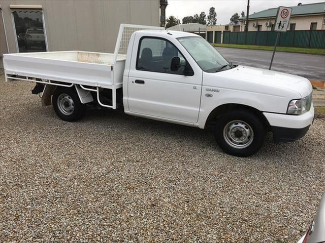 Used Ford Courier PH (Upgrade) GL 4x2 Yarrawonga, 2006 Ford Courier PH (Upgrade) GL 4x2 White 5 Speed Manual Cab Chassis
