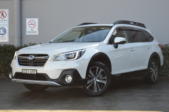 Used Subaru Outback B6A MY18 2.0D CVT AWD Premium Maitland, 2018 Subaru Outback B6A MY18 2.0D CVT AWD Premium White 7 Speed Constant Variable Wagon