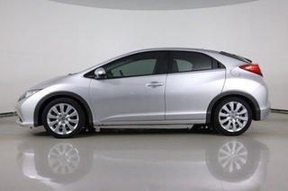 2012 Honda Civic FK VTi-L Silver 5 Speed Automatic Hatchback