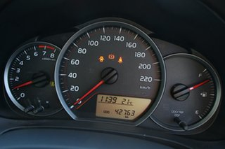2013 Toyota Yaris NCP130R YR Glacier White 5 Speed Manual Hatchback