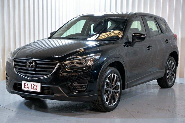 Used Mazda CX-5 KE1022 Akera SKYACTIV-Drive AWD Hendra, 2016 Mazda CX-5 KE1022 Akera SKYACTIV-Drive AWD Black 6 Speed Sports Automatic Wagon