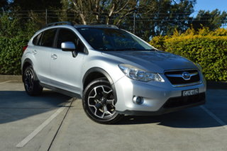 2013 Subaru XV G4X MY13 2.0i Lineartronic AWD Silver, Chrome 6 Speed Constant Variable Wagon.