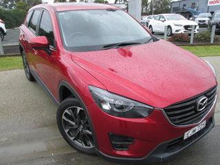 2015 Mazda CX-5 MY13 Upgrade Grand Tourer (4x4) Red 6 Speed Automatic Wagon.