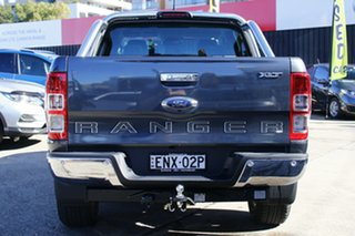2021 Ford Ranger PX MkIII 2021.75MY XLT Double Cab Grey 6 Speed Sports Automatic Double Cab Chassis