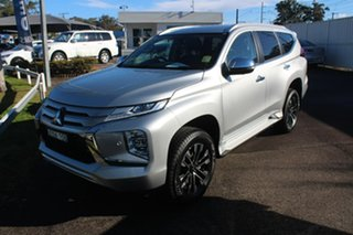 2020 Mitsubishi Pajero Sport QF MY20 Exceed Silver 8 Speed Sports Automatic Wagon.