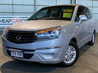 2013 Ssangyong Stavic A100 MY13 Silver 5 Speed Sports Automatic Wagon.