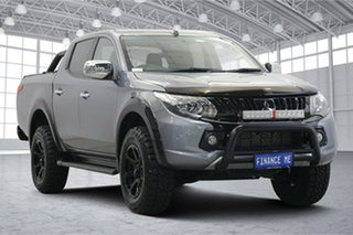 2017 Mitsubishi Triton MQ MY17 GLS Double Cab Sports Edition Grey 5 Speed Sports Automatic Utility.