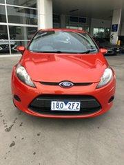 2013 Ford Fiesta WT CL Orange 5 Speed Manual Hatchback.