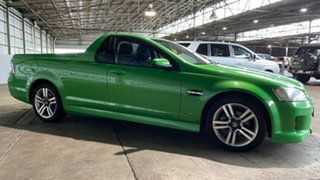 2009 Holden Ute VE MY09.5 SV6 Green 6 Speed Manual Utility.