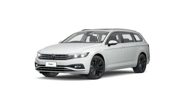 Demo Volkswagen Passat 3C (B8) MY21 162TSI DSG Elegance Cardiff, 2021 Volkswagen Passat 3C (B8) MY21 162TSI DSG Elegance Pure White 6 Speed