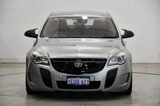 2015 Holden Insignia GA MY15.5 VXR AWD Silver 6 Speed Sports Automatic Sedan.