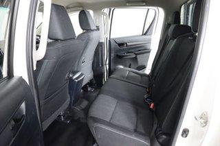 2017 Toyota Hilux GUN126R MY17 SR (4x4) White 6 Speed Automatic Dual Cab Utility