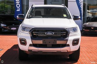 2020 Ford Ranger PX MkIII 2021.25MY Wildtrak White 6 Speed Sports Automatic Double Cab Pick Up.