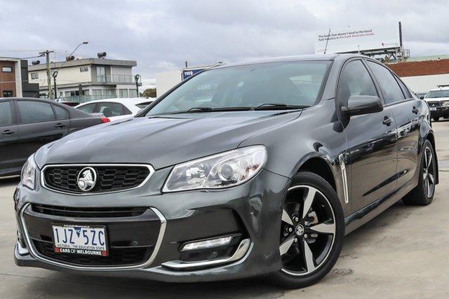 Used Holden Commodore VF II MY17 SV6 Coburg North, 2017 Holden Commodore VF II MY17 SV6 Grey 6 Speed Sports Automatic Sedan