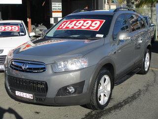 2011 Holden Captiva CG Series II 7 CX (4x4) Grey 6 Speed Automatic Wagon.