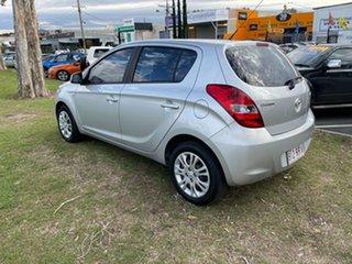 2011 Hyundai i20 PB MY12 Active Silver 5 Speed Manual Hatchback