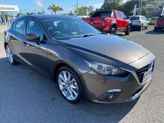 Used Mazda 3 BM5438 SP25 SKYACTIV-Drive Gladstone, 2014 Mazda 3 BM5438 SP25 SKYACTIV-Drive Grey 6 Speed Sports Automatic Hatchback