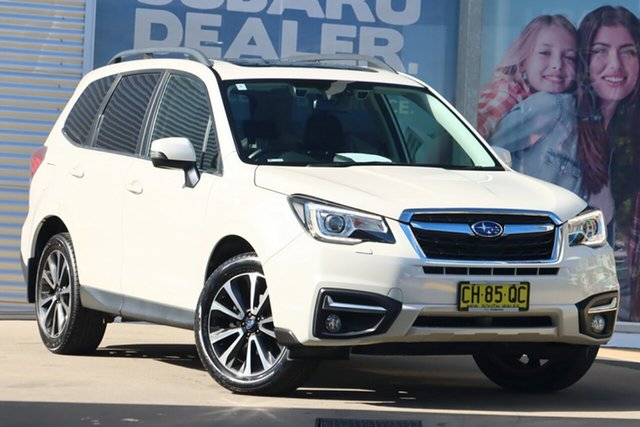 Used Subaru Forester MY16 2.5I-S Rosebery, 2016 Subaru Forester MY16 2.5I-S White Continuous Variable Wagon