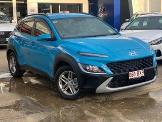 2020 Hyundai Kona Os.v4 MY21 2WD Dive in Jeju 8 Speed Constant Variable Wagon.