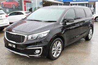 2018 Kia Carnival YP MY18 Platinum Black 6 Speed Sports Automatic Wagon.