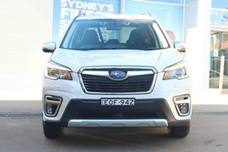 2020 Subaru Forester MY20 2.0E-L Hybrid (AWD) Crystal White Continuous Variable Wagon